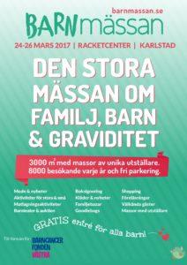 Barnmässan i Karlstad 24-26 Mars 2017