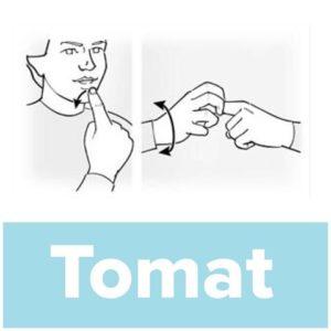 Tecknet för tomat