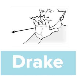 Tecknet för drake