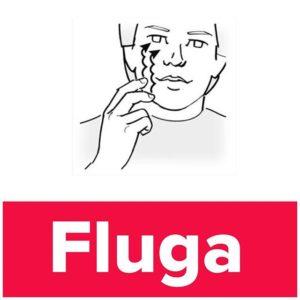 Tecknet för fluga