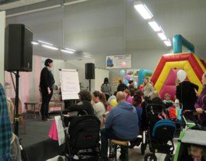 Linda pratar på Barnmässan Karlstad 2017
