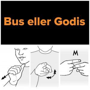 Tecknet för bus eller godis