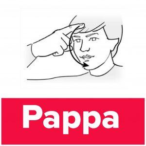 Tecknet för pappa