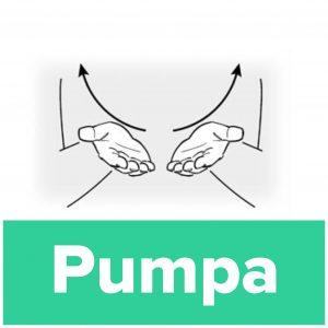 Tecknet för pumpa