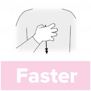 Tecknet för faster